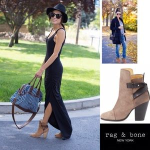 Wowsa Rag & Bone Too Hot Kinsey Boot Bootie 37.5/7